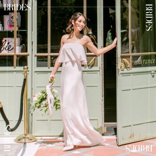 bride at bridal shower