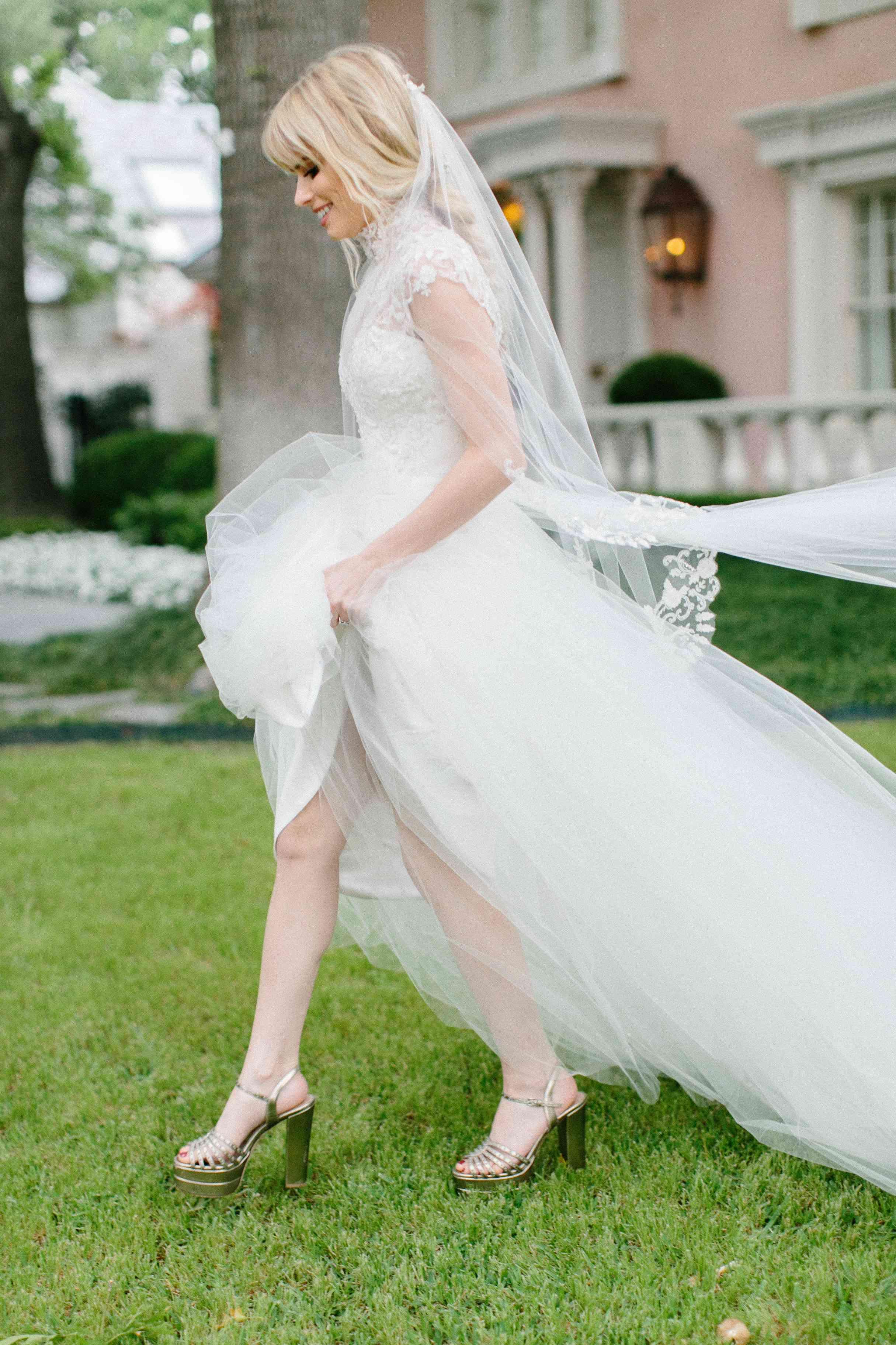 <p>Christian Siriano Wedding Dress</p><br><br>