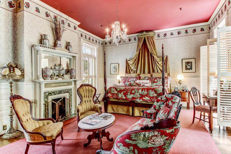 Victoria Suite at Ballastone Inn in Savannah