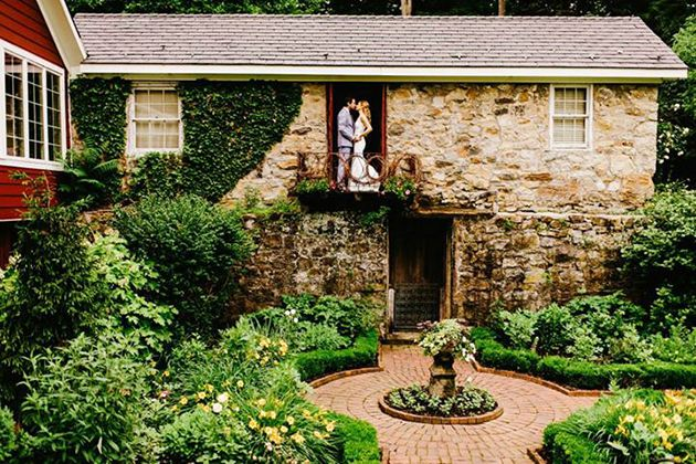 BRIDES New York: Rustic Wedding Venues Outside of NYC (in ...