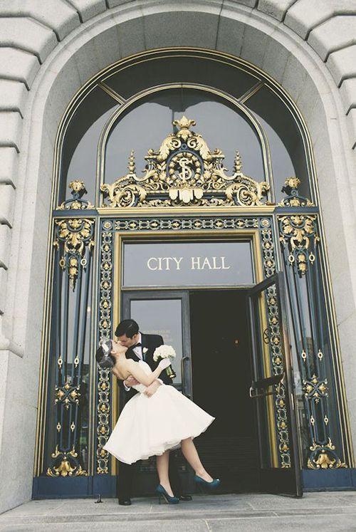 San Francisco Courthouse Wedding.Brides Northern California How To Get A Marriage License In San