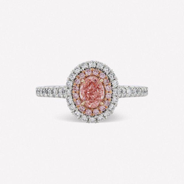 pink engagement ring