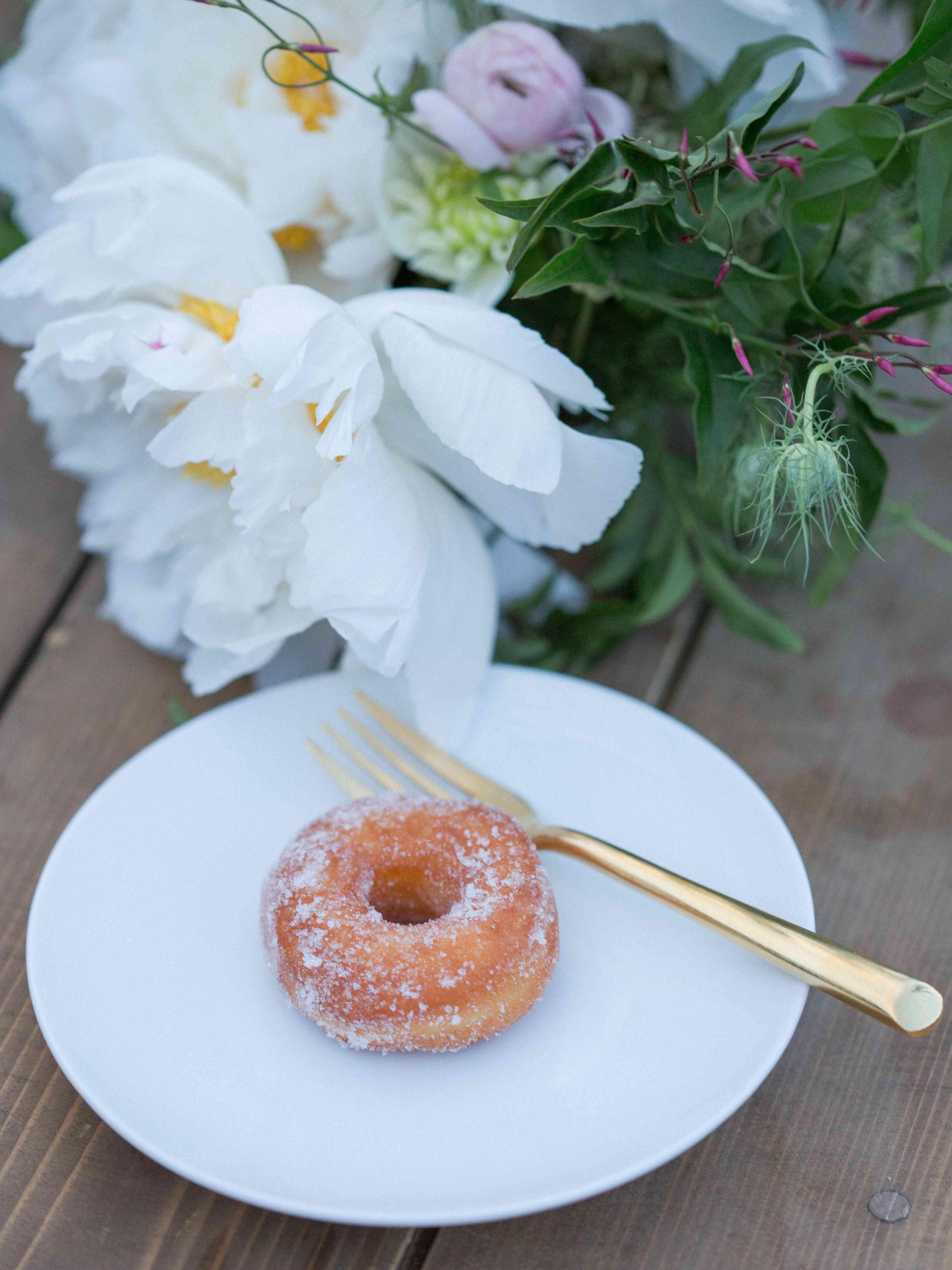 Mini Doughnut Dessert