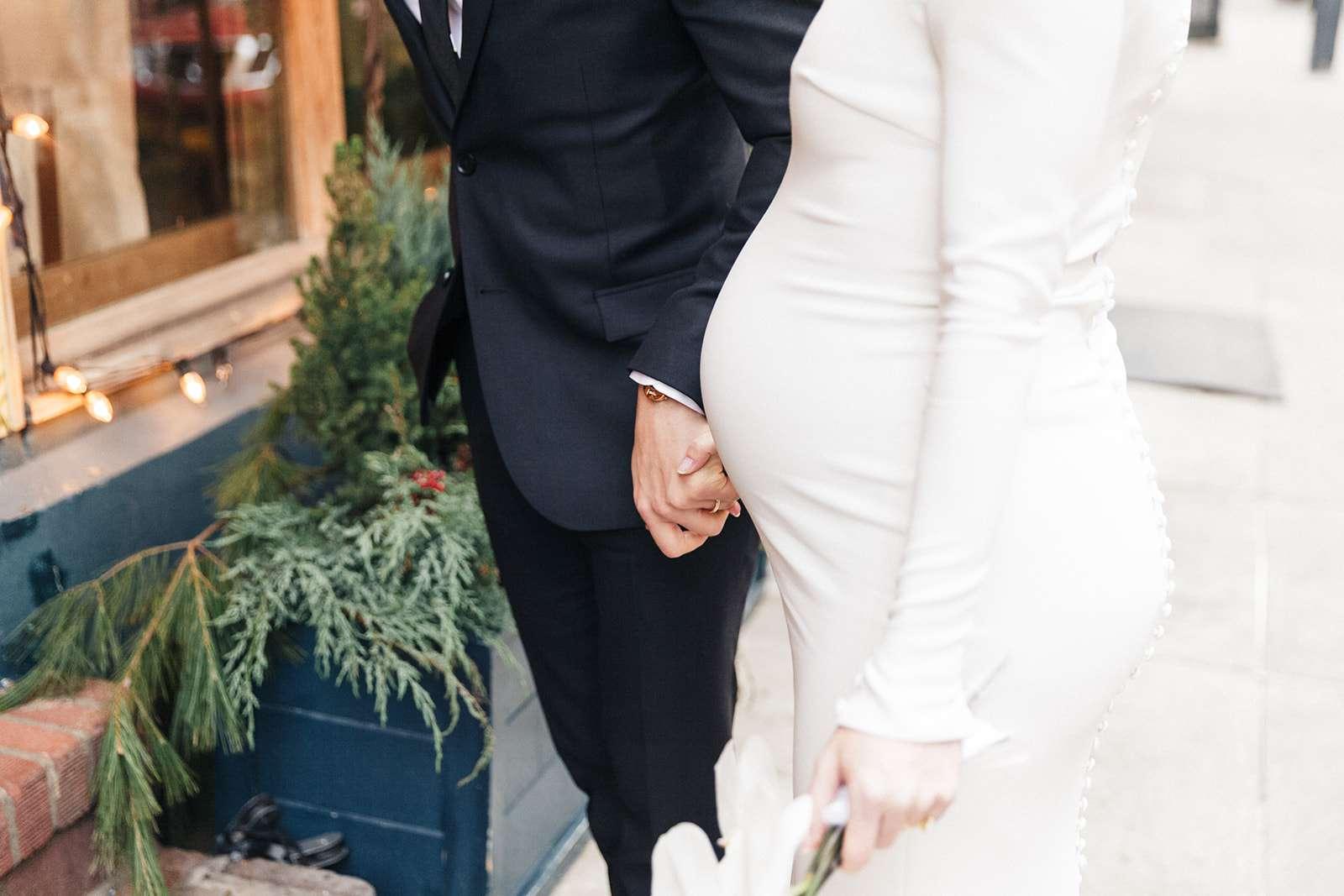 A Beauty Power Couple's Intimate New York City Wedding