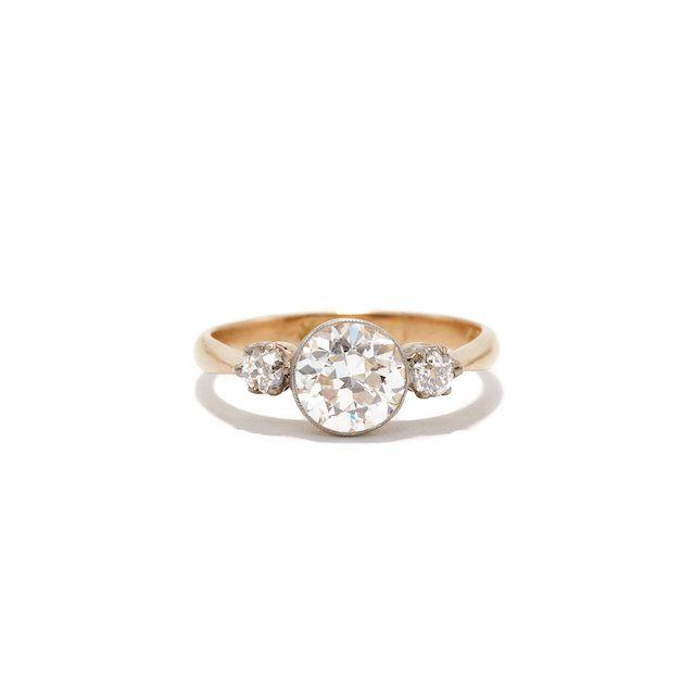 Ashley Zhang Emmeline Thee Diamond Ring