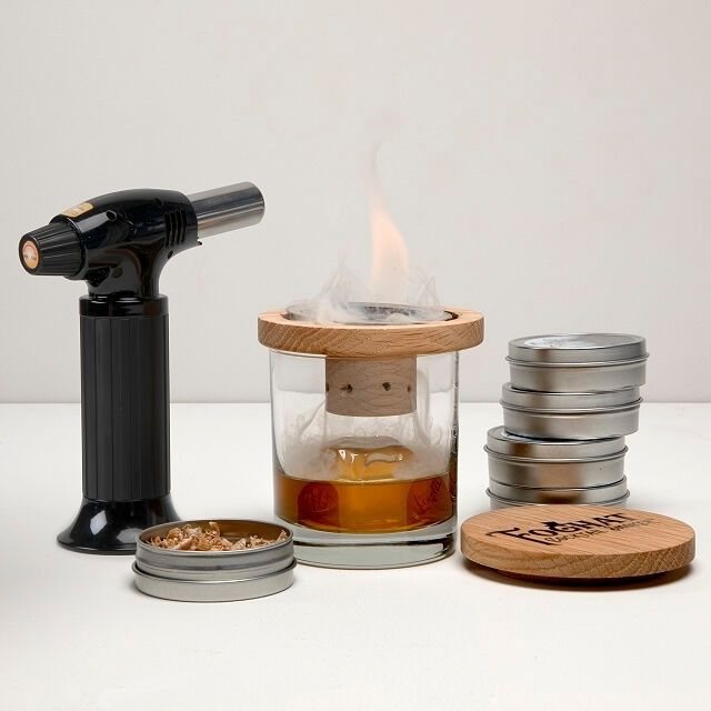 Uncommon Goods Glass Topper Cocktail Smoker