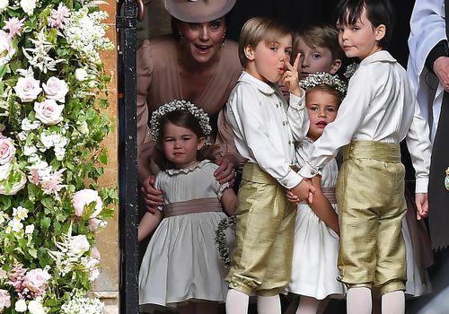 royal wedding flower girls and ring bearers