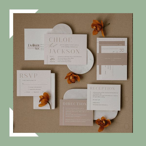 minted collection invitations