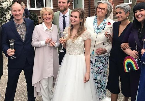 <p><p>Contestants from the Great British Bake Off reunite for Martha Collison's wedding.</p></p>