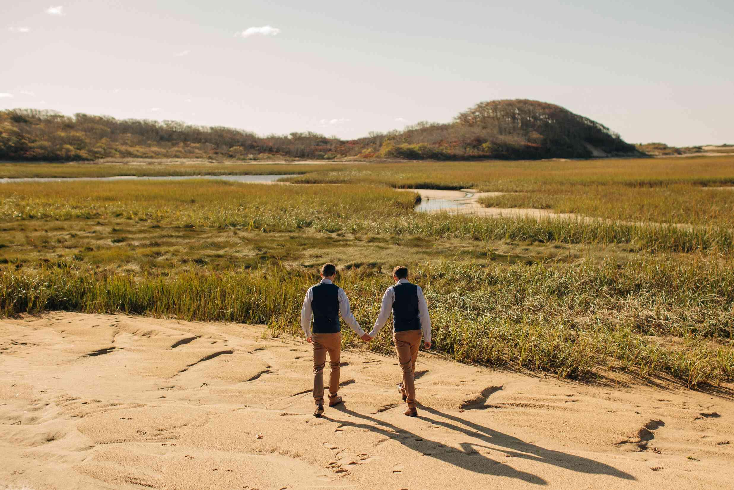 Provincetown beach elopement