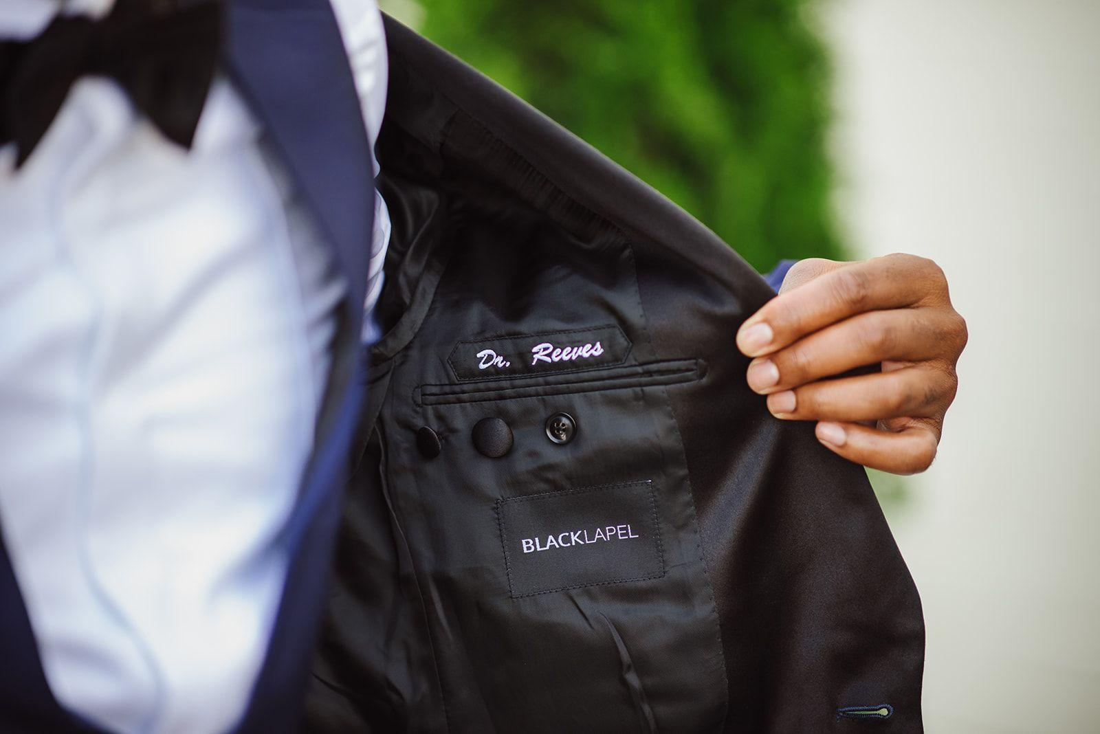groom jacket