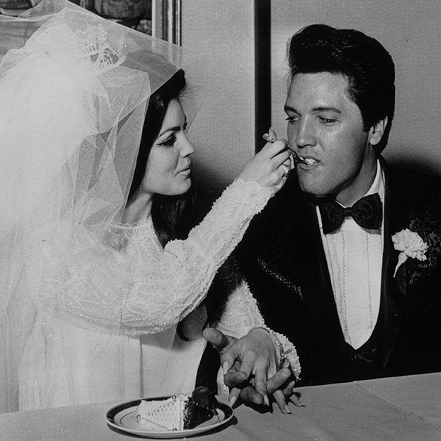 Tbt Elvis And Priscilla Presley S Wedding Photos