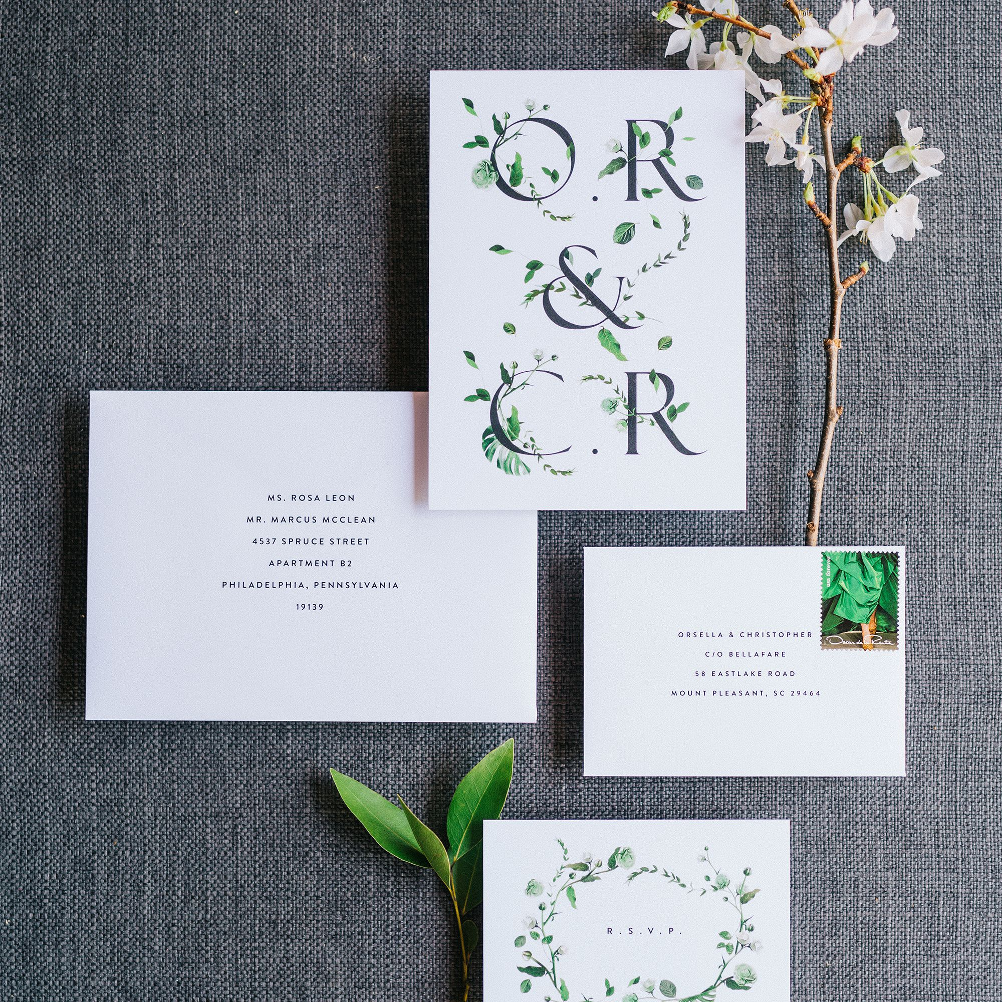 Typist Wedding Invitation Suite  Printable Wedding Invitations  DIY Wedding Invitations