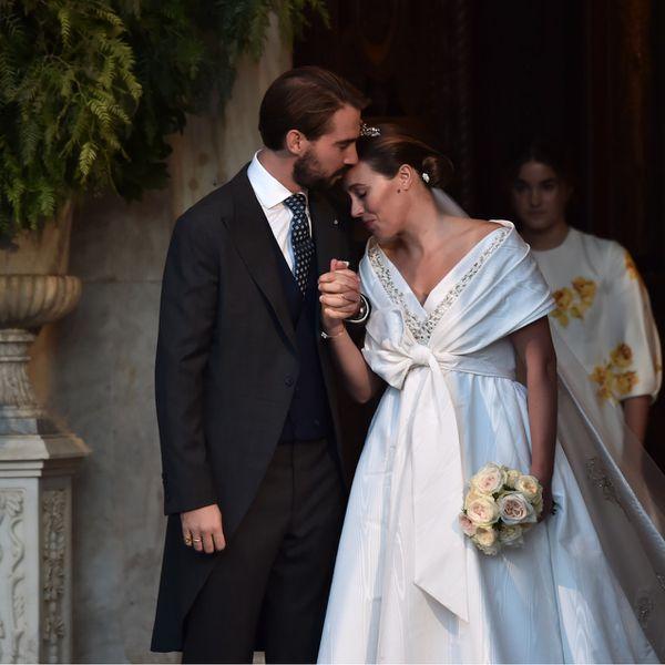 Nina Flohr and Prince Philippos Wedding