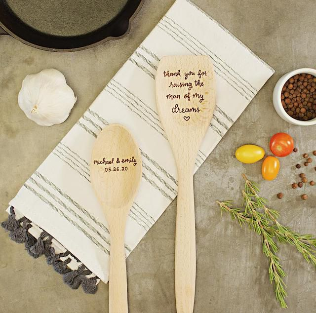 Hearth & Table Co. Personalized Wooden Spoon Set