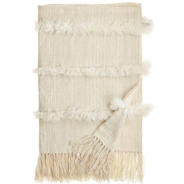 Alt for Living Sheepskin Stripe Throw