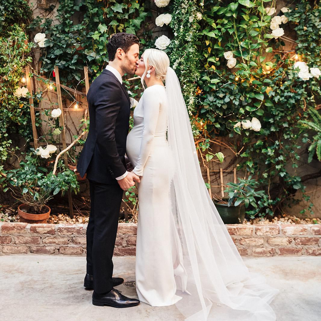 A Beauty Power Couple S Intimate New York City Wedding