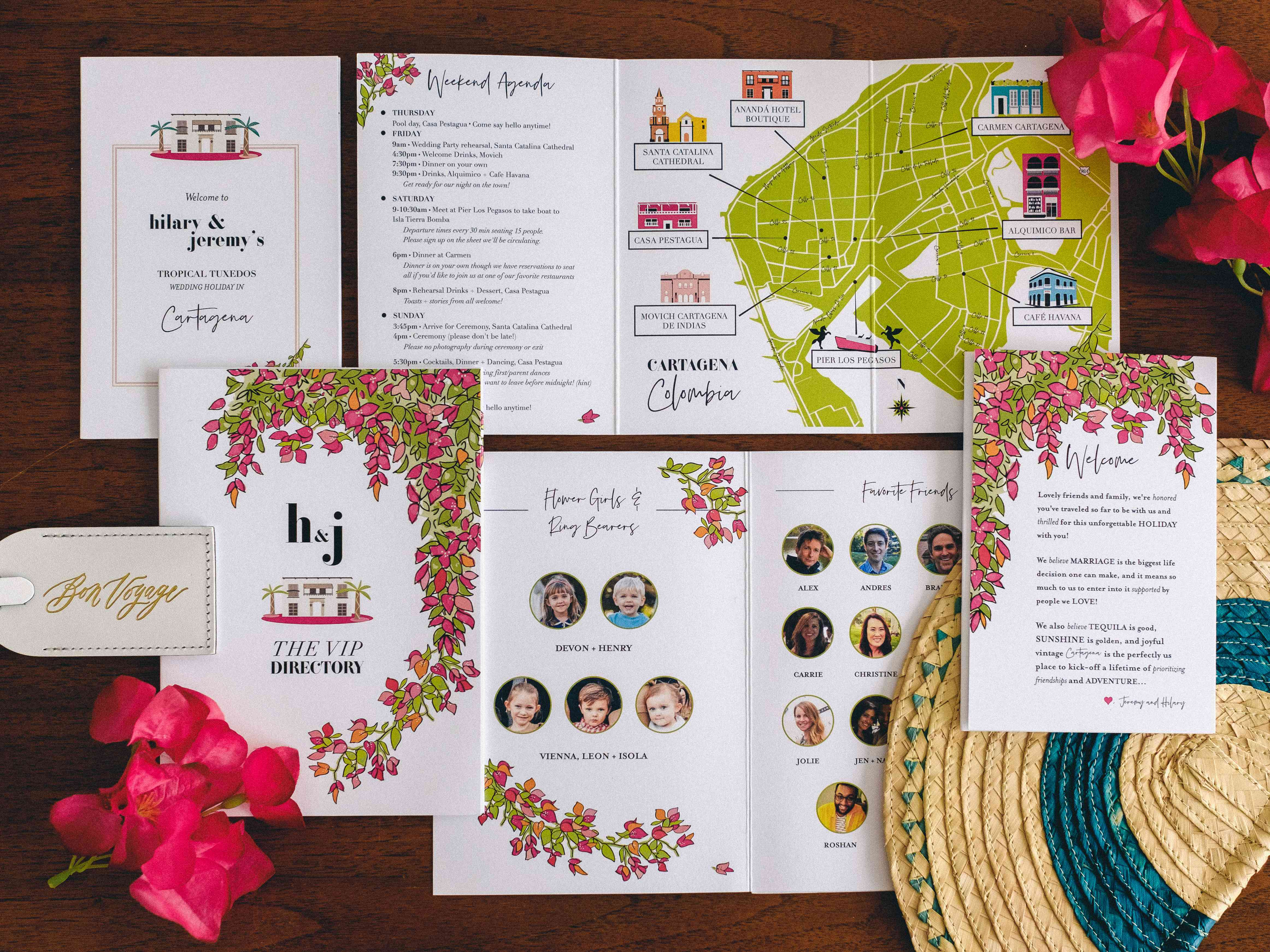 wedding program