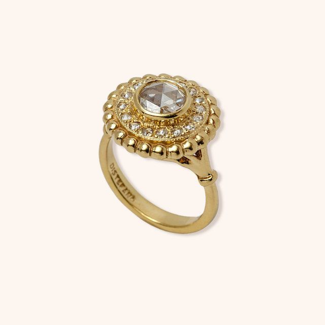 Donna Distefano Sunflower Giordana Ring