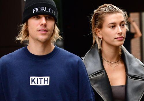 Justin Bieber and Hailey Baldwin in New York City.