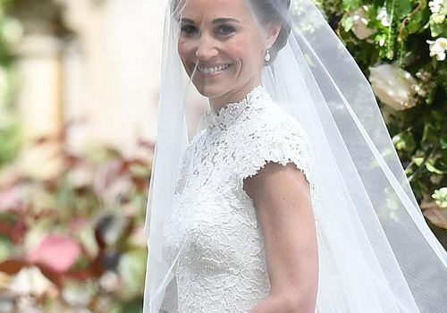 <p>Pippa Middleton's Wedding Dress</p>
