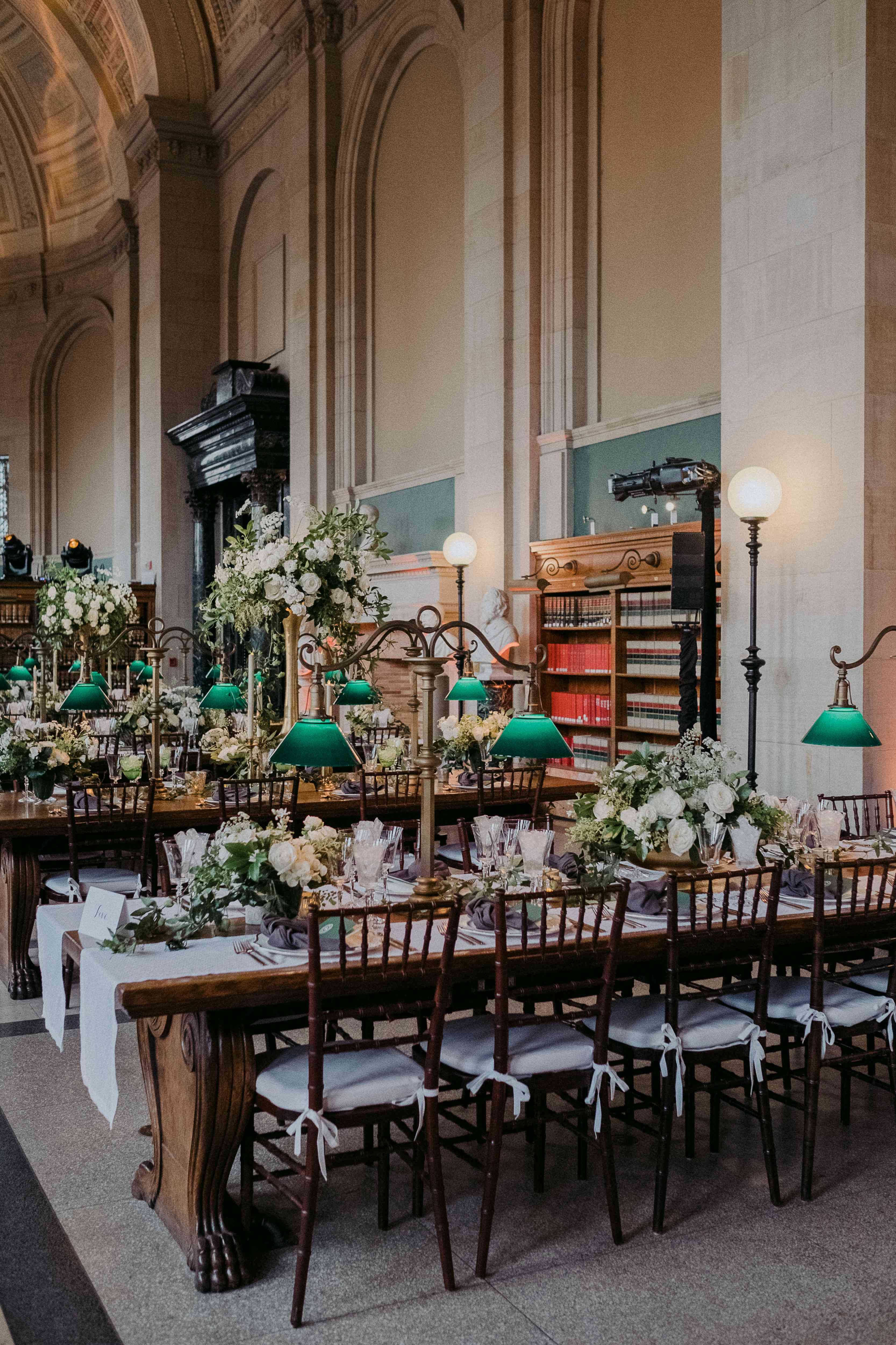<p>Reception dinner tables</p><br><br>