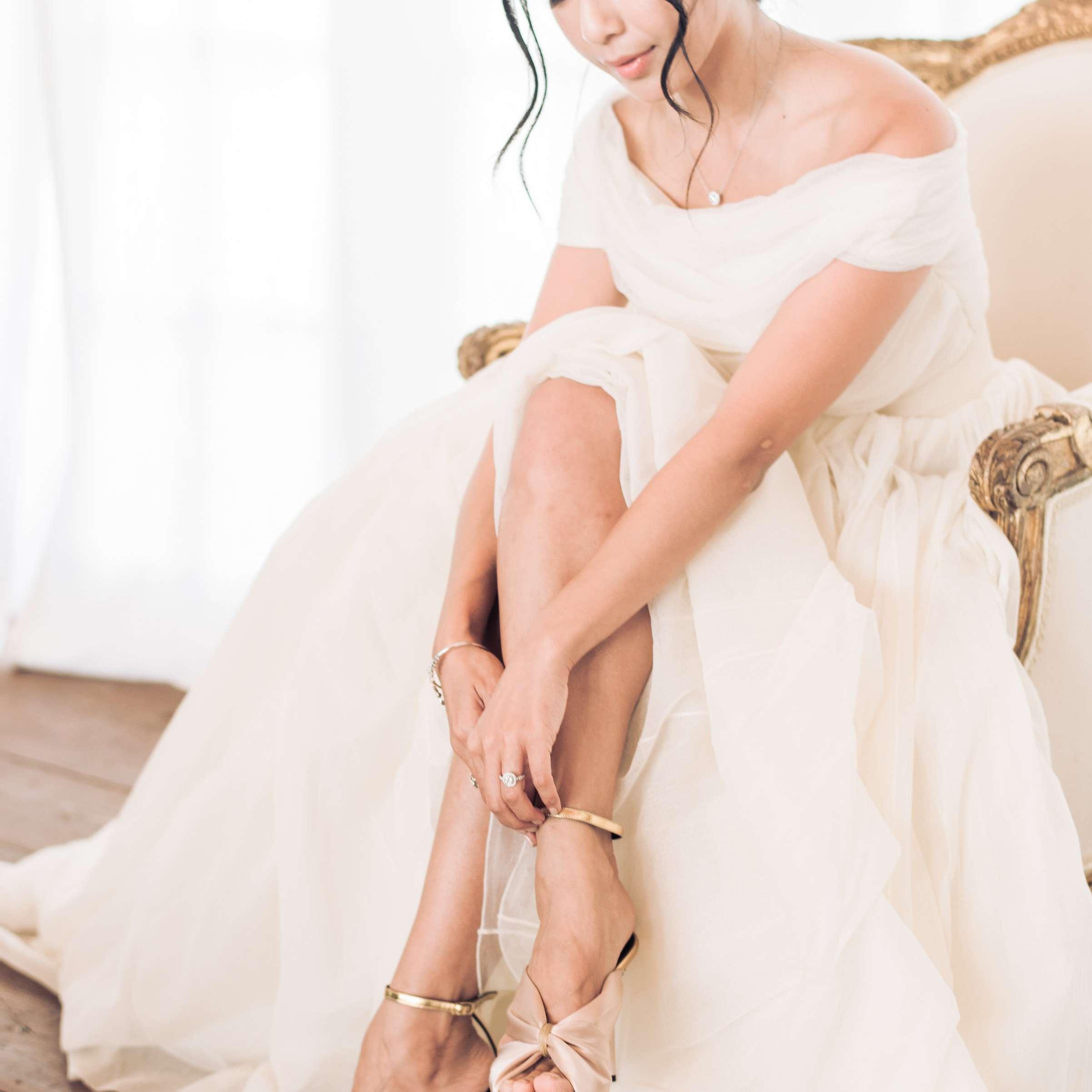Bride in Cortana Wedding Gown