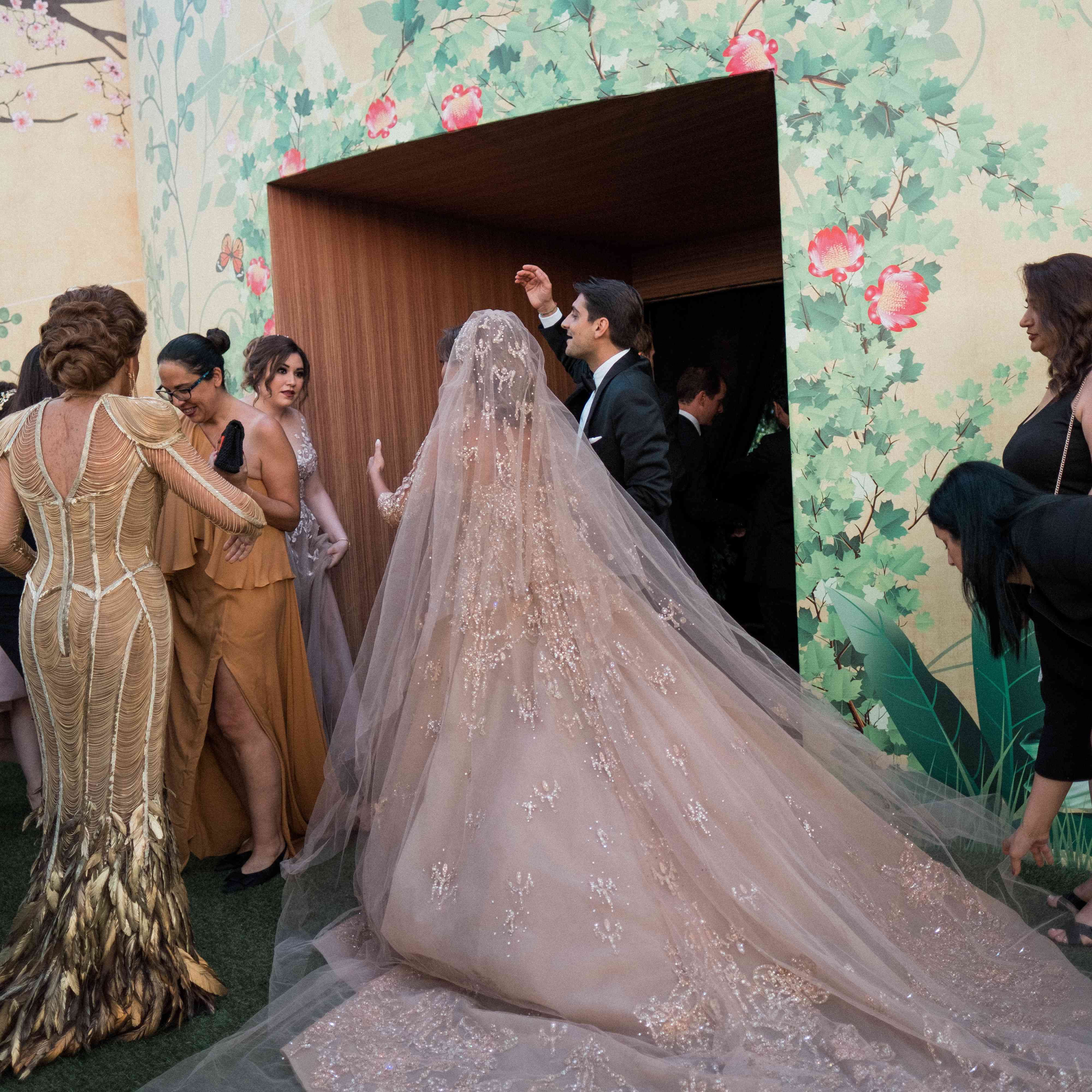 One Couple's Two Over-the-Top Weddings in Greece and Lebanon