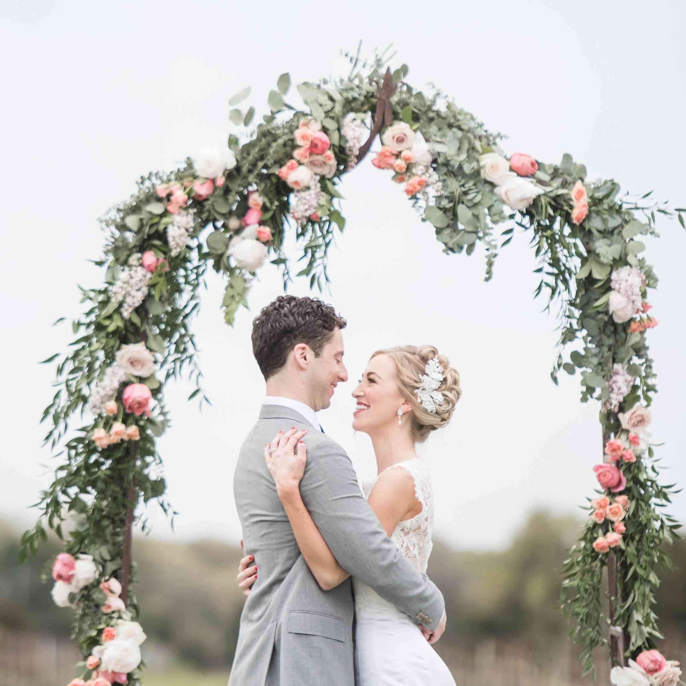 Wedding Ceremony Flower Arch