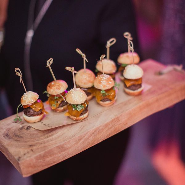 Wedding Finger Food Menu: Wedding Food & Drink Ideas