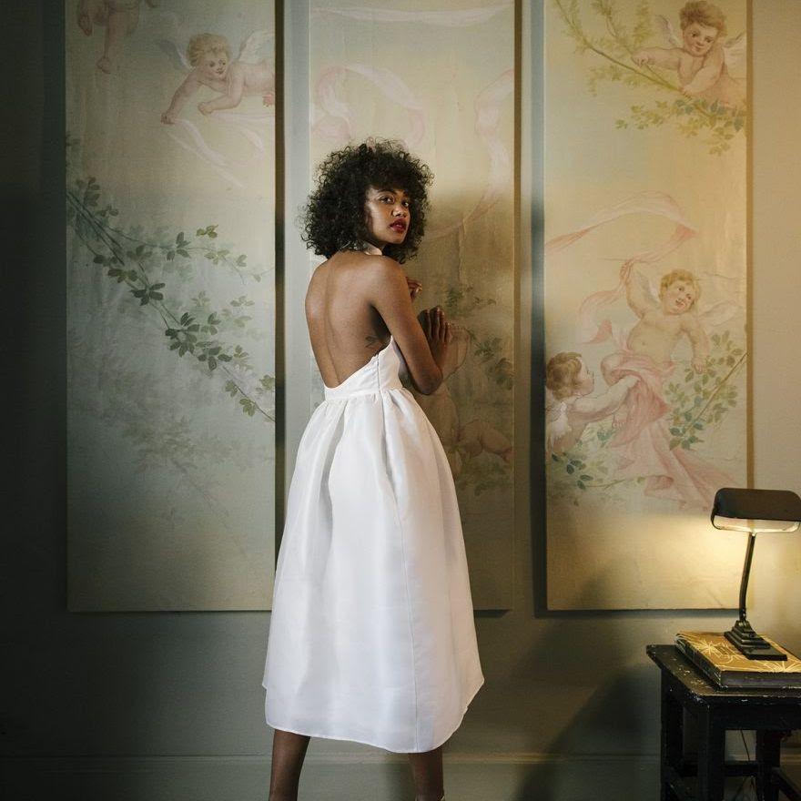 tea length dress