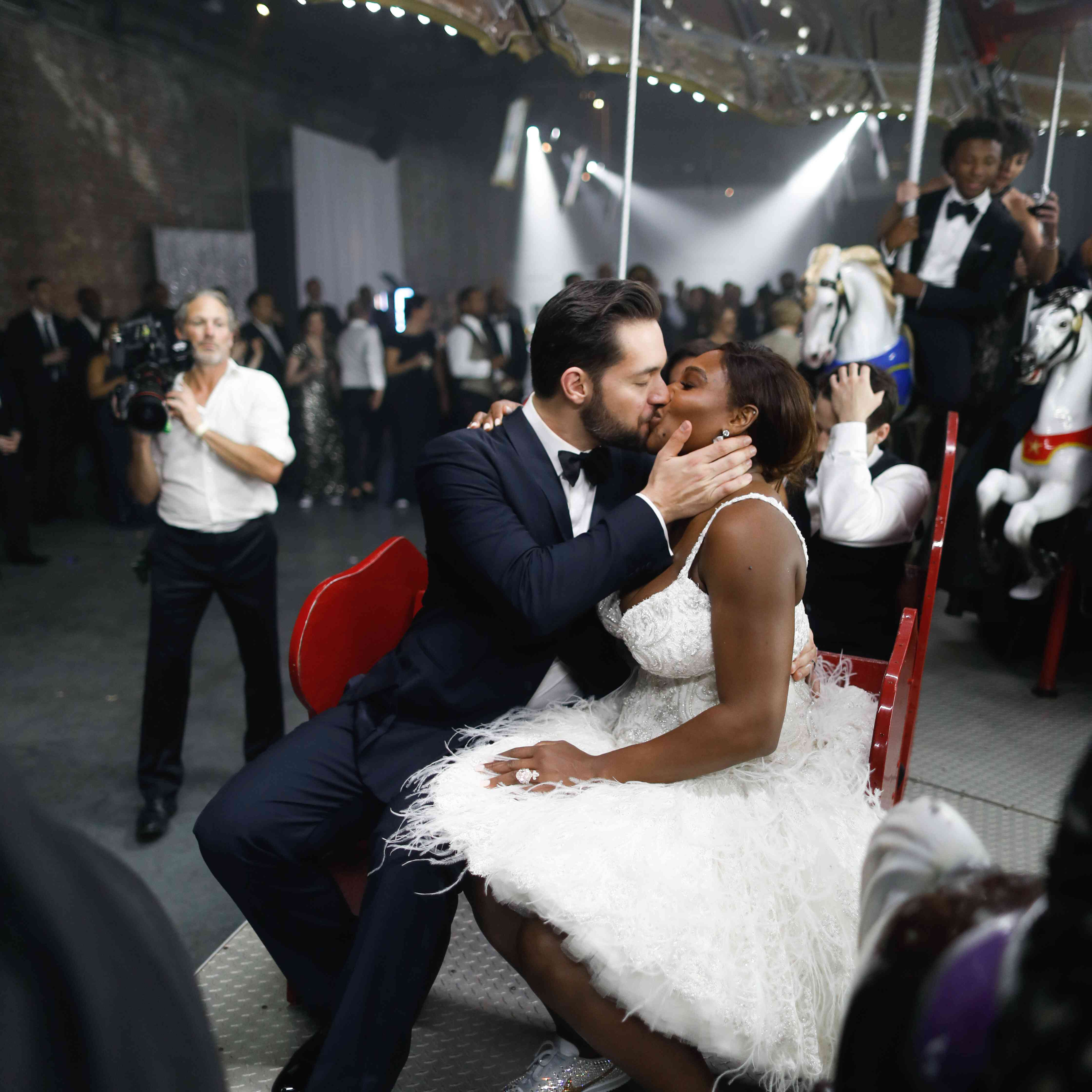Serena Williams and Alexis Ohanian's Wedding Carousel