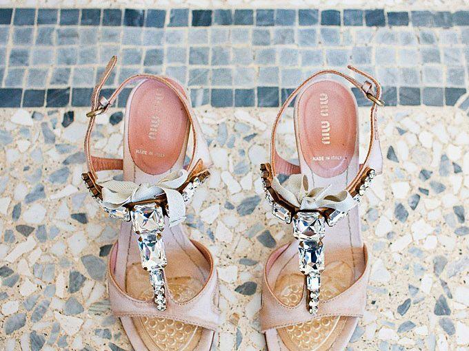 Stylish Sparkly Wedding Shoes