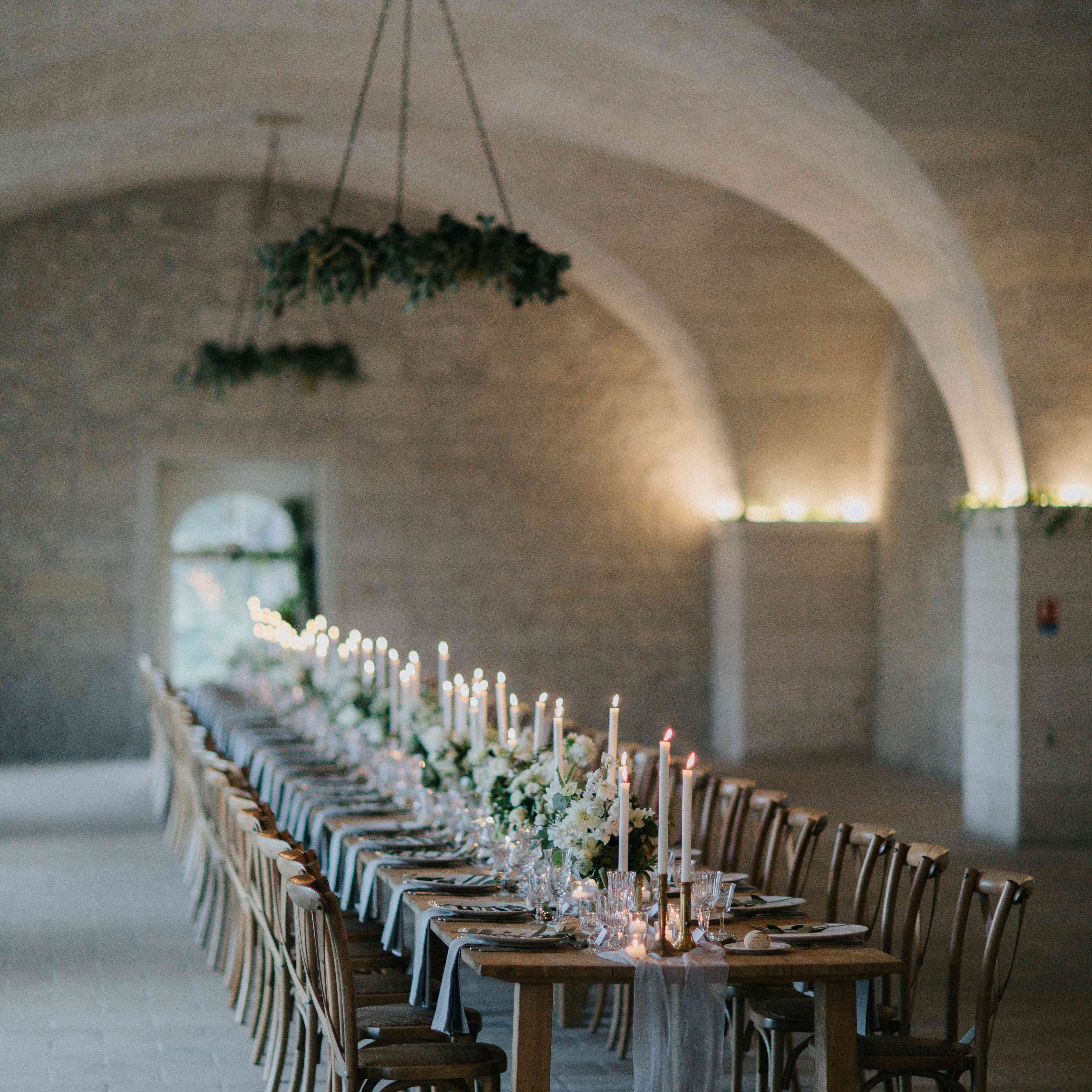<p>one table reception dinner</p><br><br>