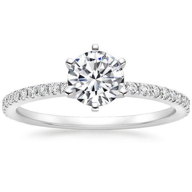 Brilliant Earth Six-Prong Luxe Ballad Diamond Ring