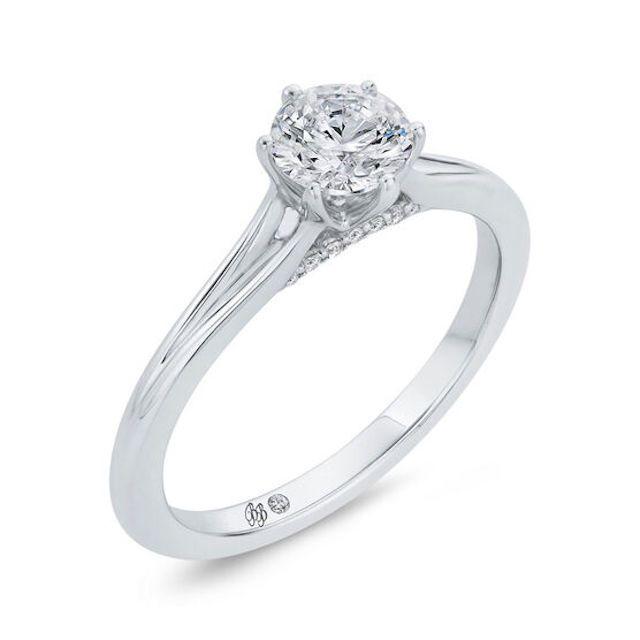 Ben Bridge Bella Ponte Engagement Ring Setting in Platinum