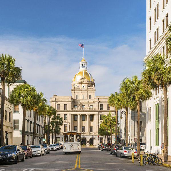 Downtown Savannah Georgia