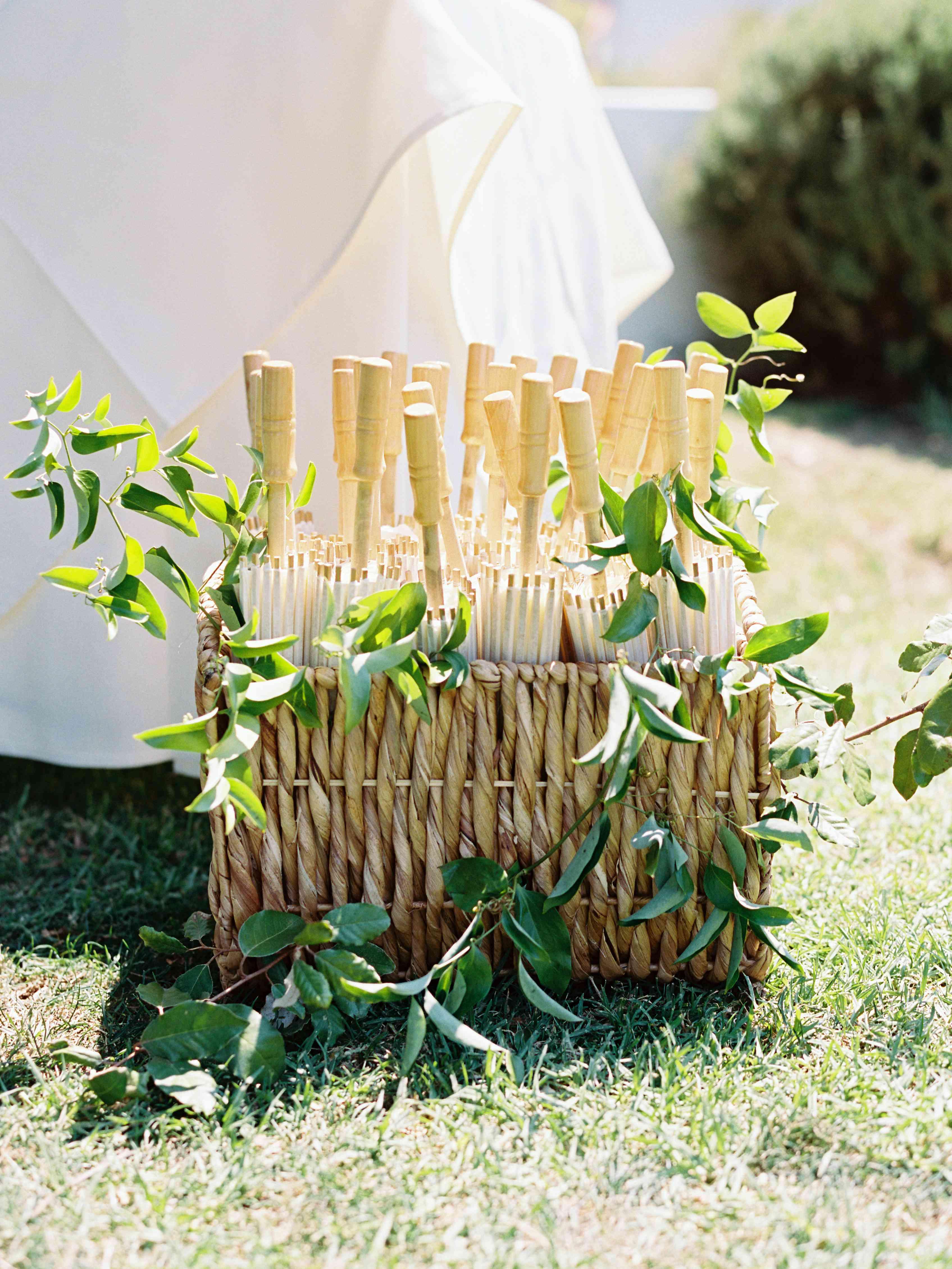 parasols for guests