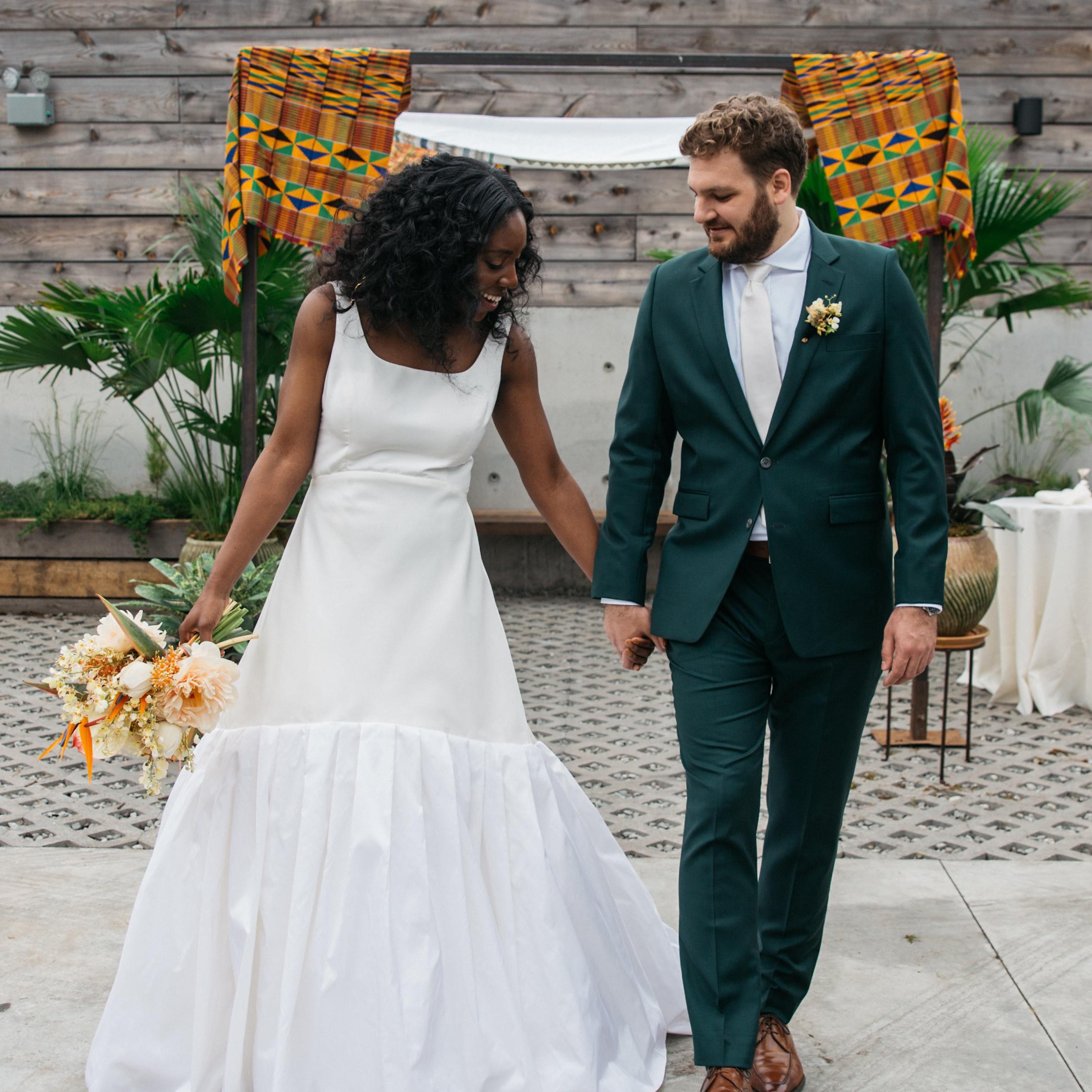 A Brooklyn Wedding In A Hip Industrial Venue