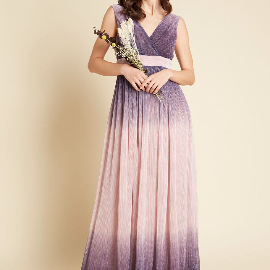 Traffic People Ombre Goodness Maxi Dress $219