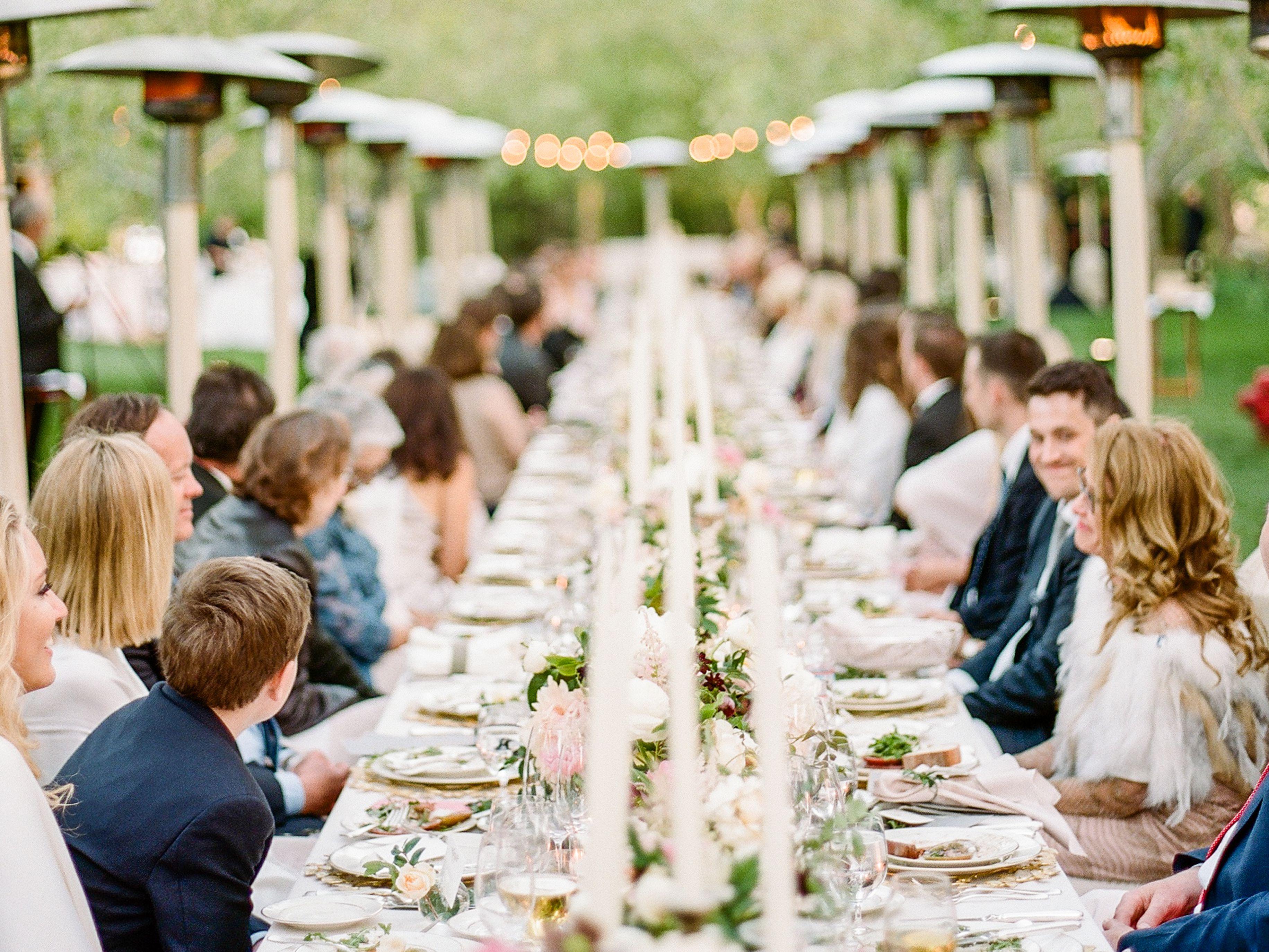 Wedding Reception Meal Styles & Menu Ideas