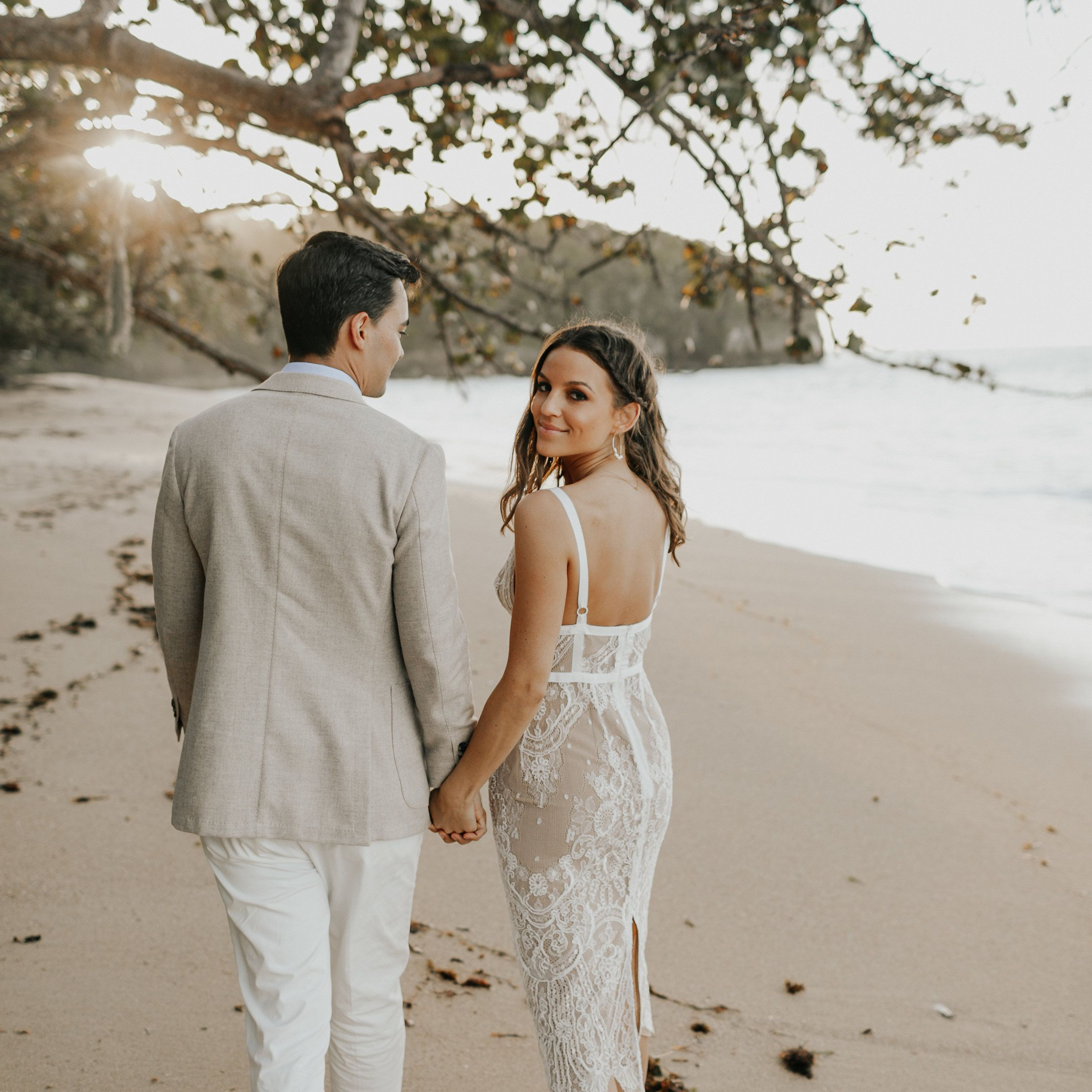 35 Beach Wedding Dresses Perfect For A Seaside Ceremony