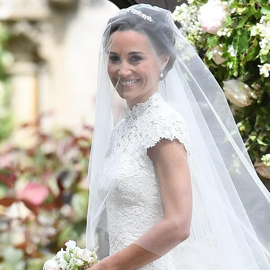 Pippa Middleton S Wedding Dress Details Including Her Something