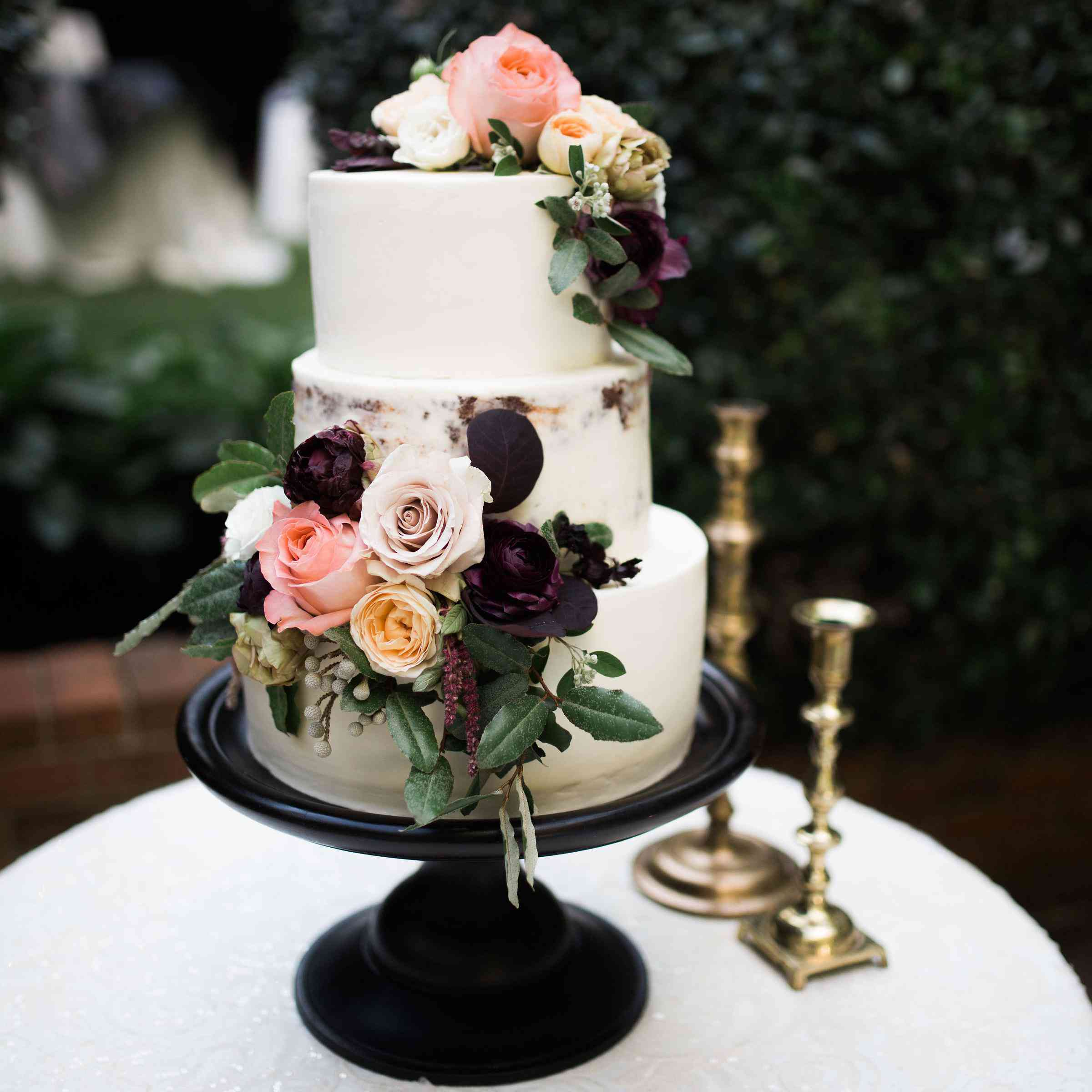 Cake Decorating Wedding Ideas: 85 Of The Prettiest Floral Wedding Cakes