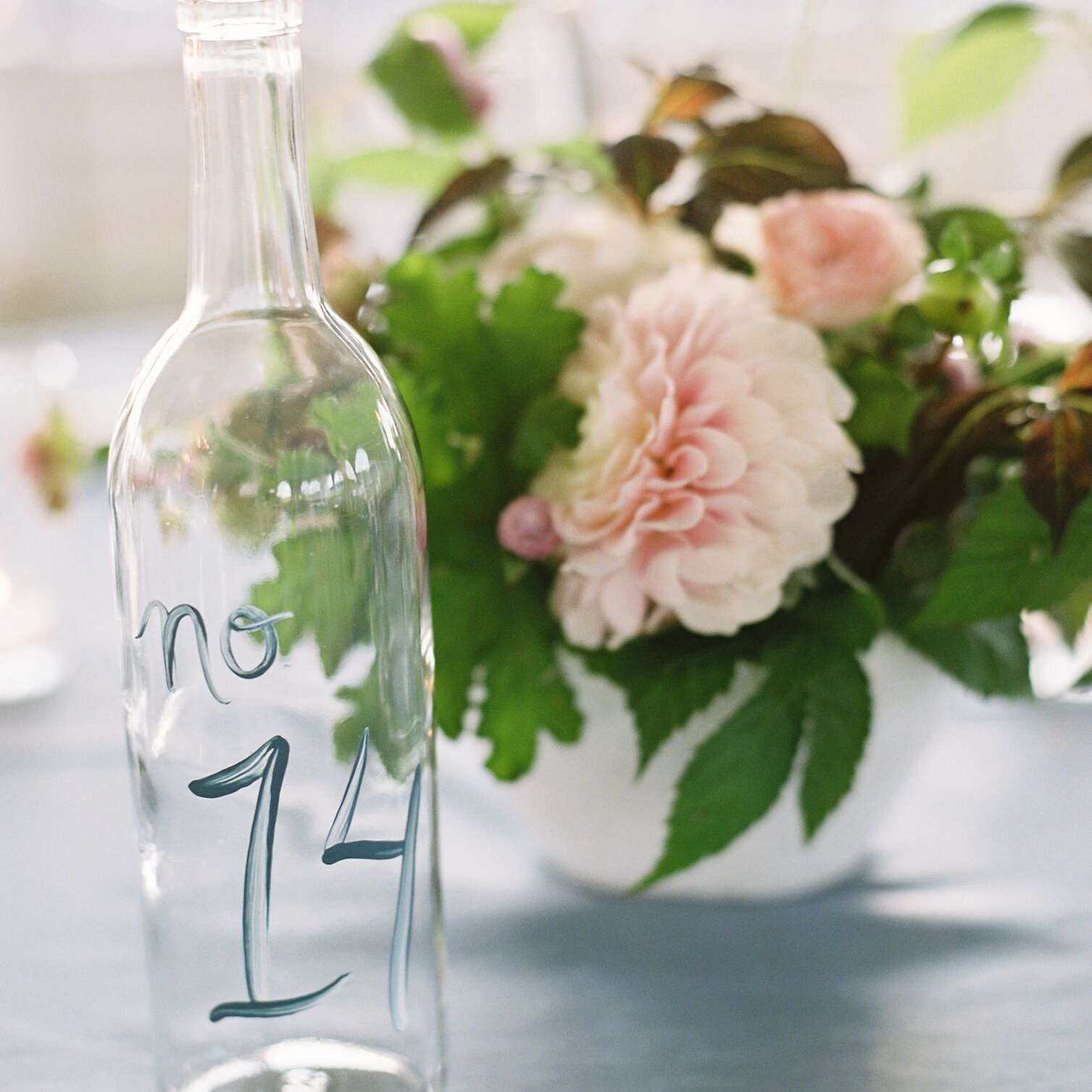 <p>Bottle table number</p>