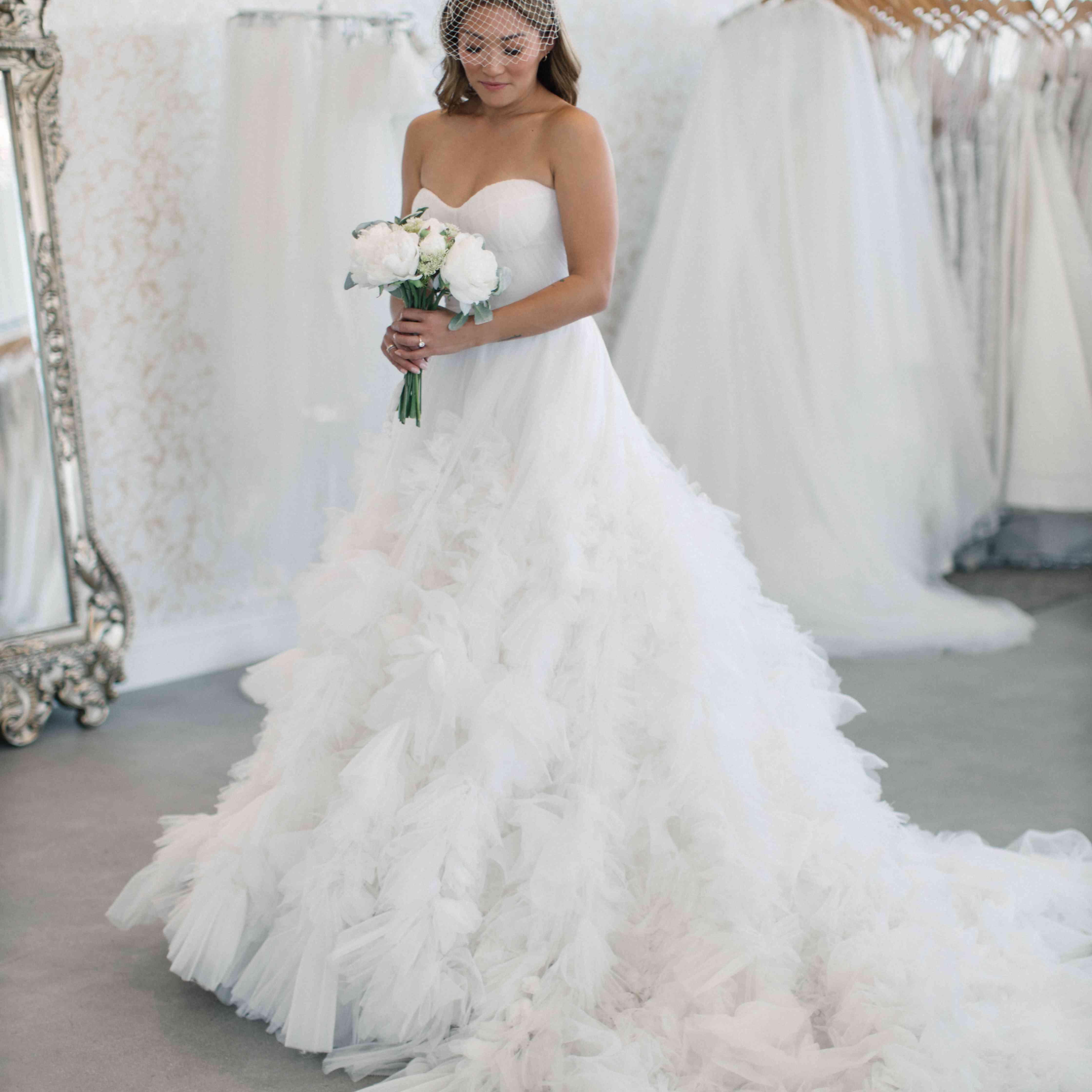 jenna ushkowitz dress shopping