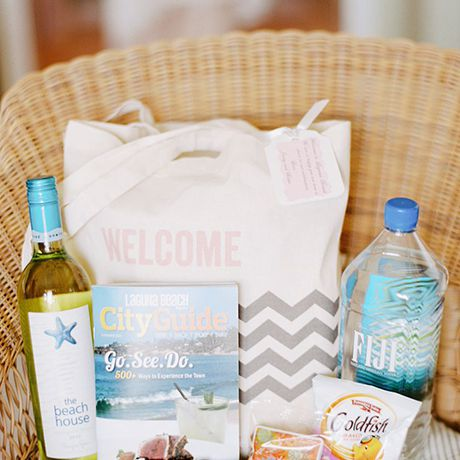 25 Creative Wedding Welcome Bag Ideas