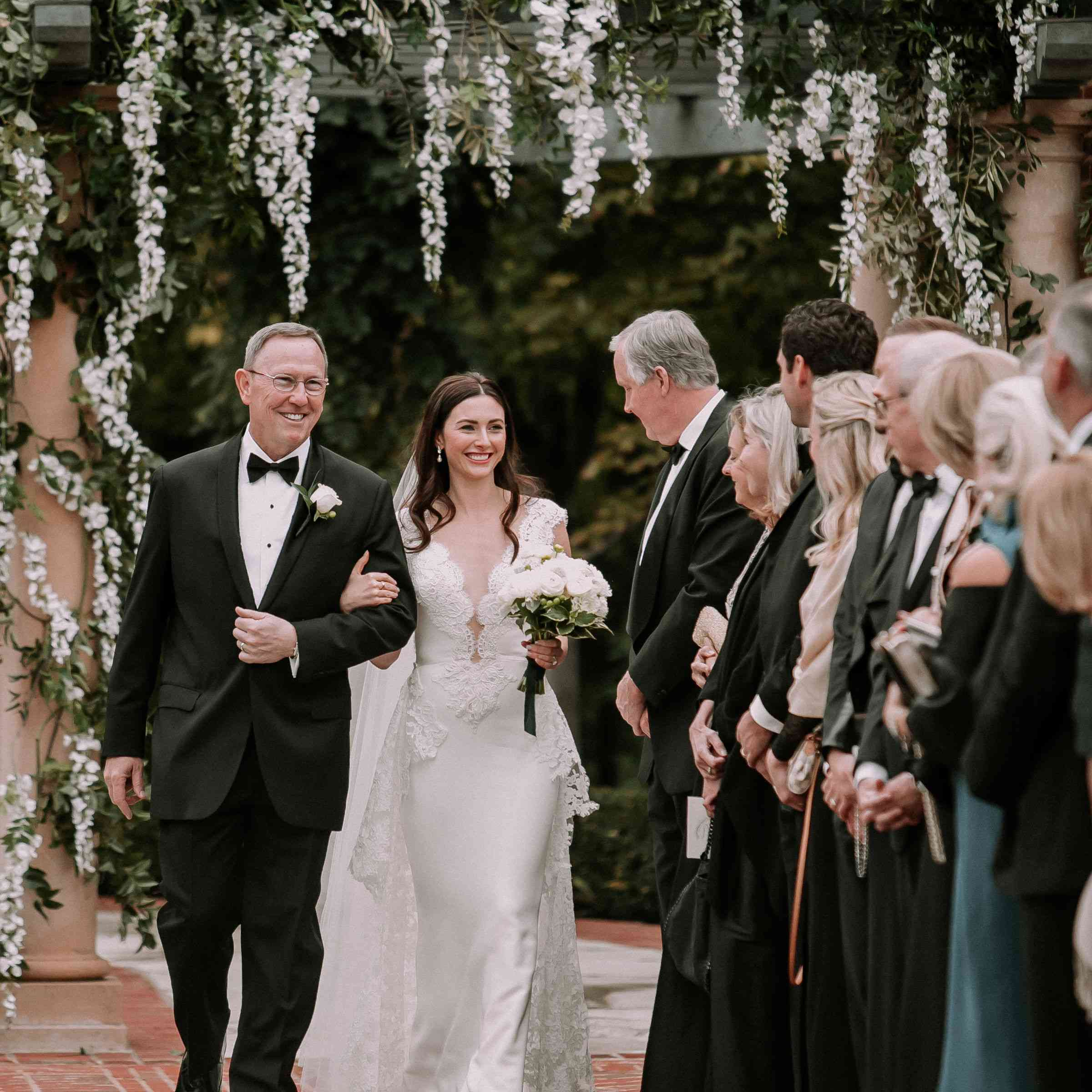 A Timeless Backyard Wedding At The Bride S Childhood Home In