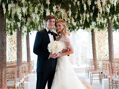 Ivanka Trump Wedding Reception.Tbt Inside Ivanka Trump And Jared Kushner S Over The Top Wedding Day