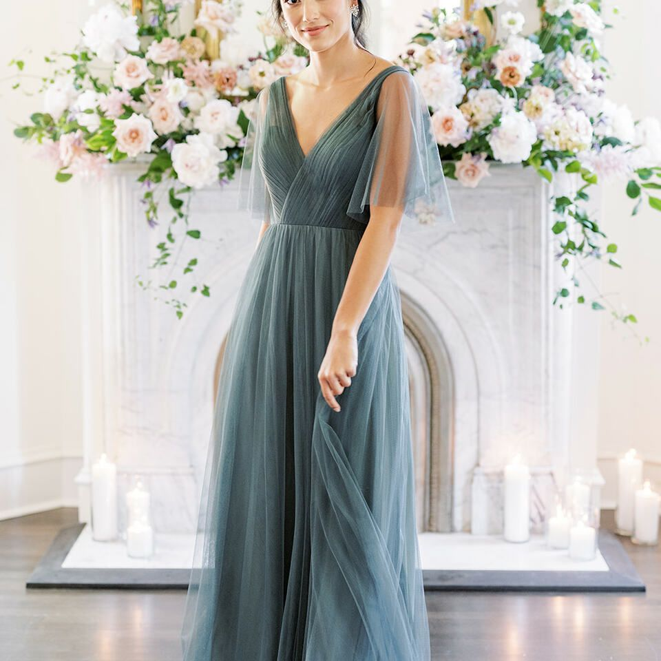 bridal party dress